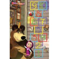 Masha and the Bear D3MM002-Mix