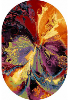 Ковер CRYSTAL 2927 multicolor овал