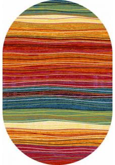 Ковер CRYSTAL 2773 multicolor овал